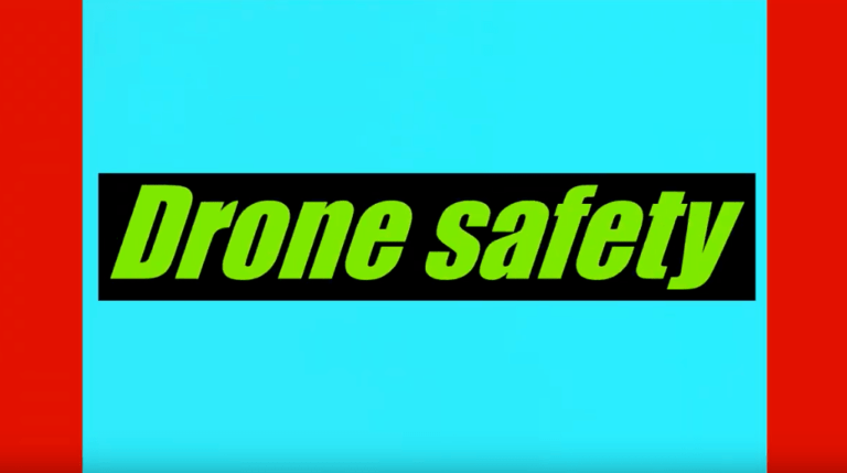 Drone Safety banner