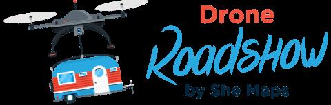 Drone Roadshow by She Maps Logo