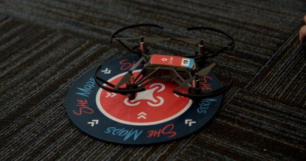 she maps tello drones for schools