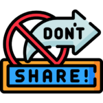 dont share the resources share the sign up