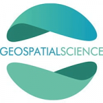 graphic logo of geospatial science
