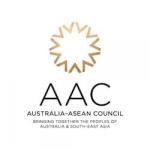 graphic logo of the Australia-ASEAN Council