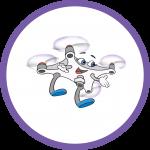 Pippa and Dronie STEM education book logo