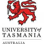 graphic logo of University of Tasmania Australia