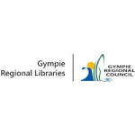 graphic logo of Gympie Regional Libraries