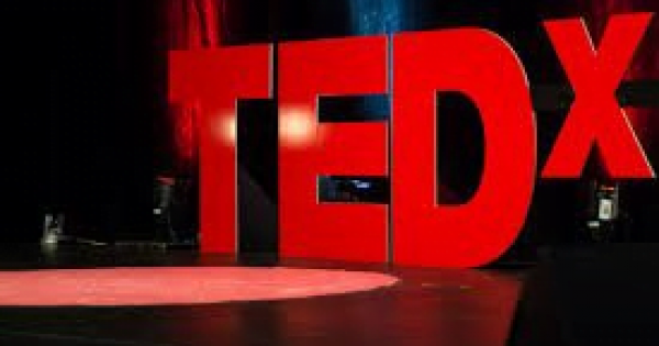 TED X letters and stage